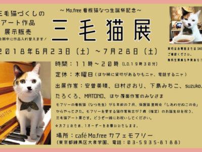 2018年7月のcafé Mo.free (カフェモフリー)占い日